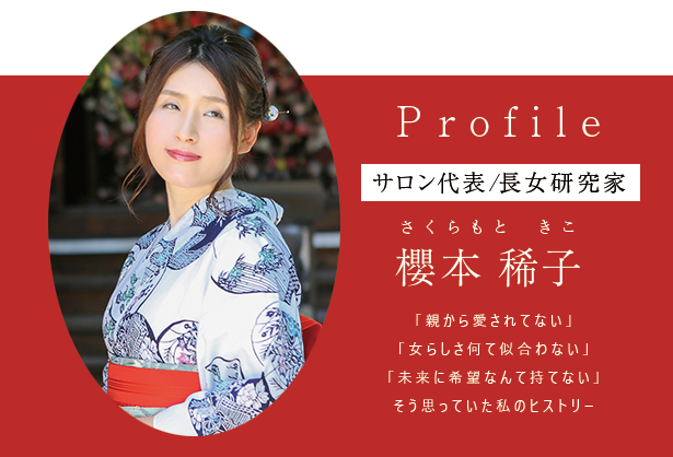 櫻本稀子プロフィールTOP
