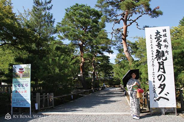 大宝寺入り口