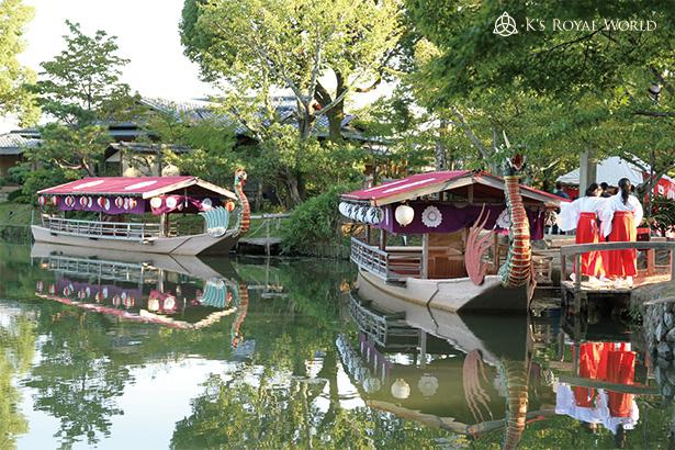 大覚寺2艘の船フル