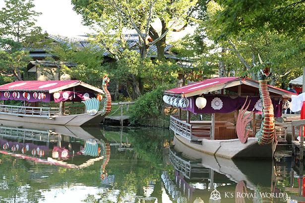 大覚寺2艘の船