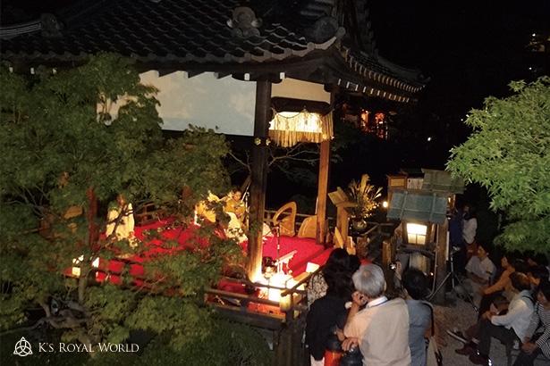 神泉苑舞台