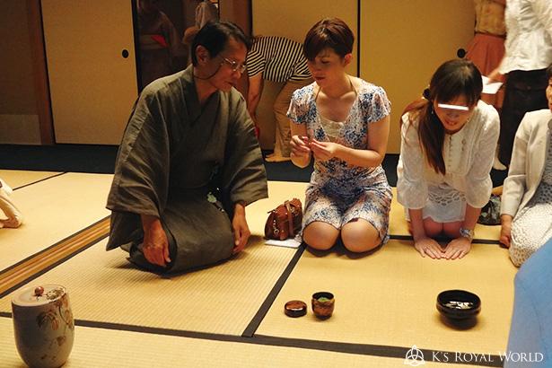 高台寺茶会工芸品