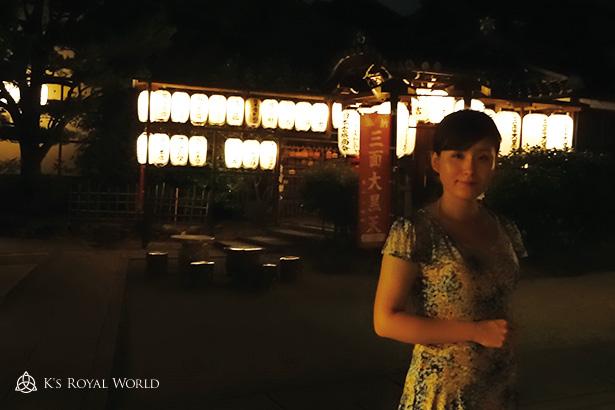 高台寺食後夜